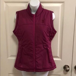 Awesome Raspberry Color Addidas Climawarm Vest Sm